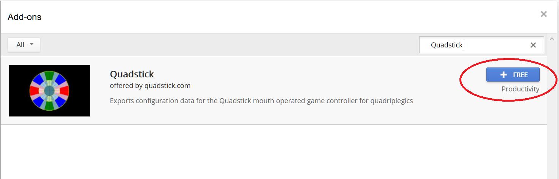 get addon quadstick.PNG
