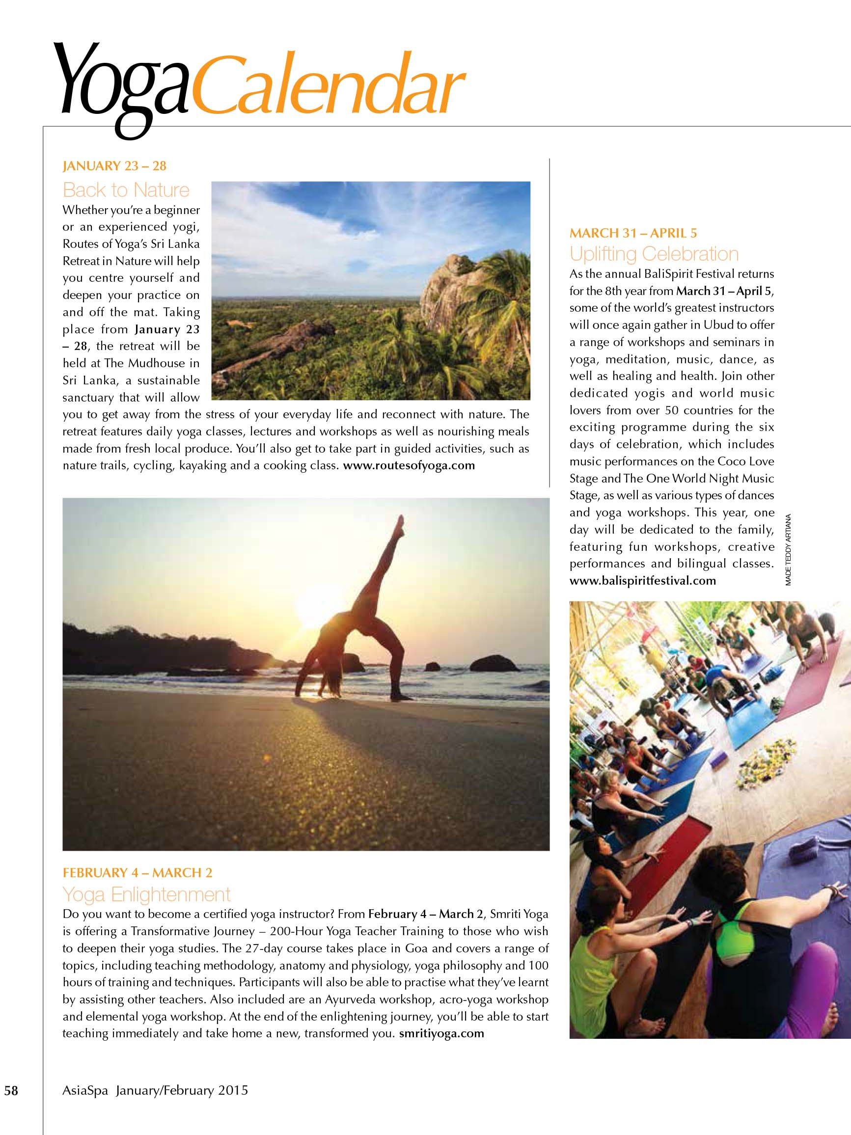 Routes of Yoga Sri Lanka Yoga Retreat Feature