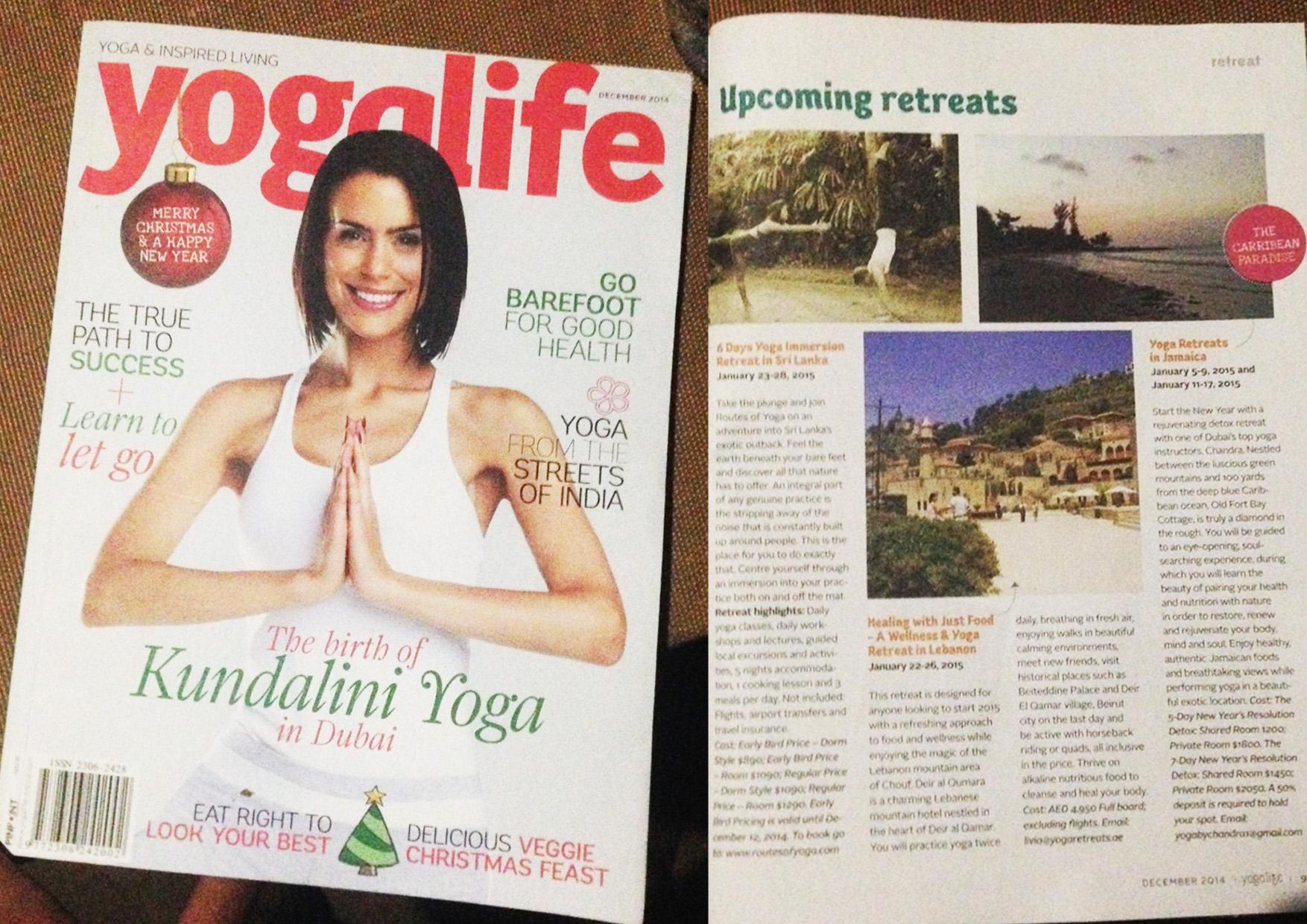 Yogalife Magazine Routes of Yoga