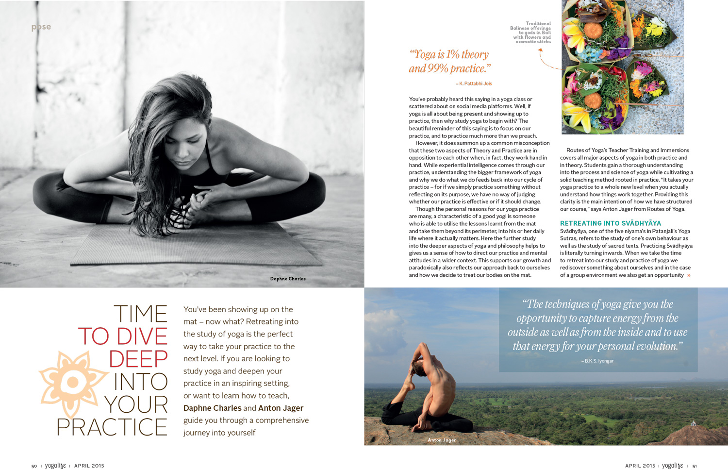 YogaLife April 2015 Routes of Yoga Feature 1