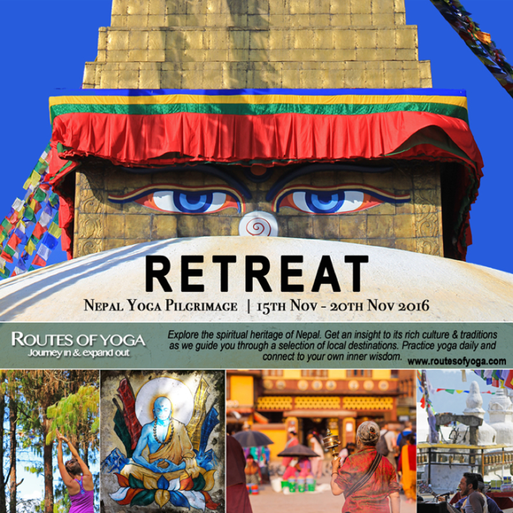 Routes of Yoga's Yearly Pilgrimage Retreat in Nepal