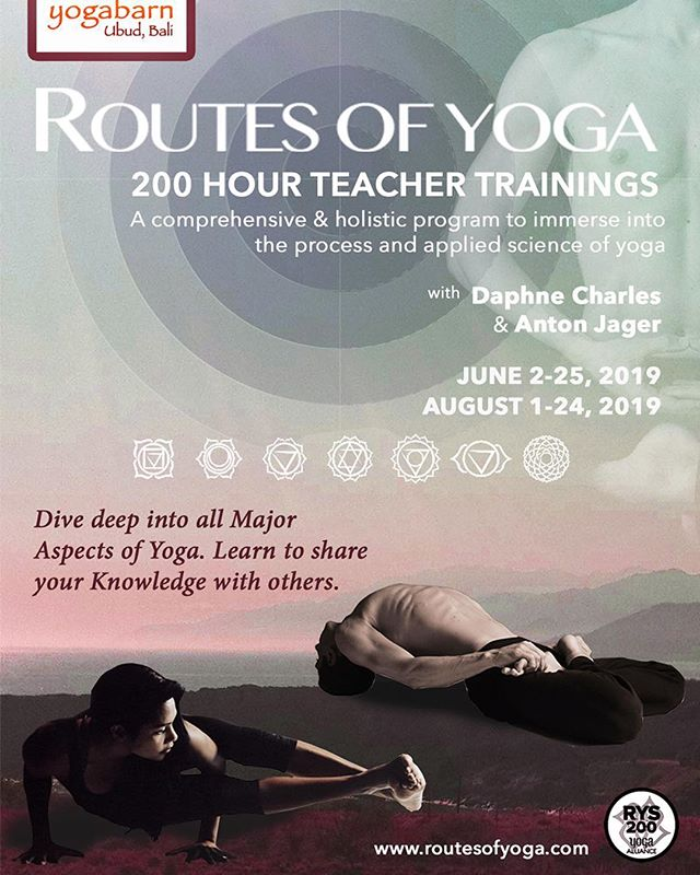 Heads up to those of you that have expressed interest in ROY's #yogateachertraining this June @theyogabarn - Early bird date is coming up on the 2nd of March. Theres a little more time for August's training intake! . . . . . . . . #yogajourney #ubudbali #routesofyoga #yogateachertraining #baliyoga #yogateacher #ttc #ubudyoga #ubud #yogaworkshop #yogaretreat #yoga #yogalife #yogabarn #yogaasana