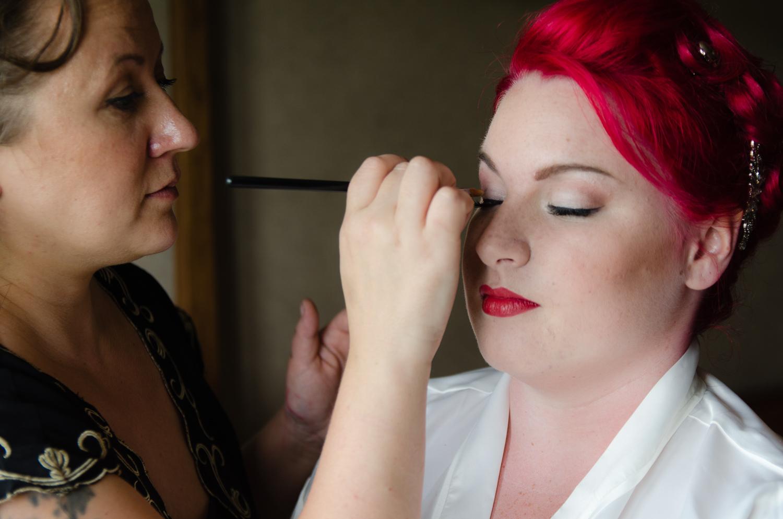 wedding makeup artist devon