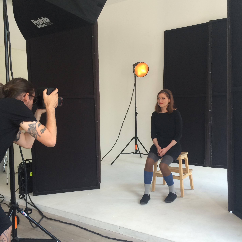 Hanna Söderqvist blev supernöjd med sina bilder!