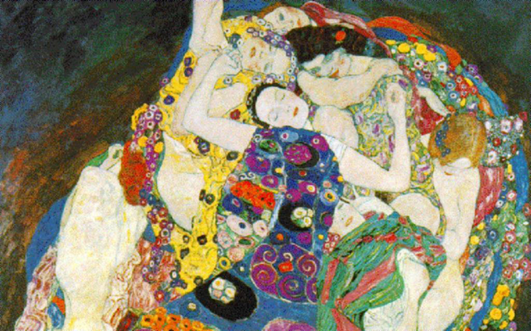 Sleeping Women - Gustav Klimt