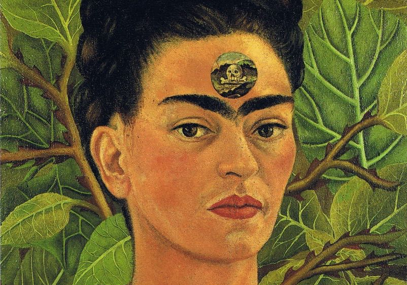 Thinking About Death (1943)  - Frida Kahlo