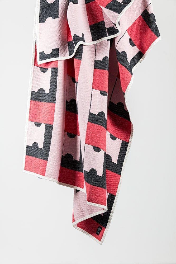 CoopDPS Cotton Blanket, Zig Zag Zurich