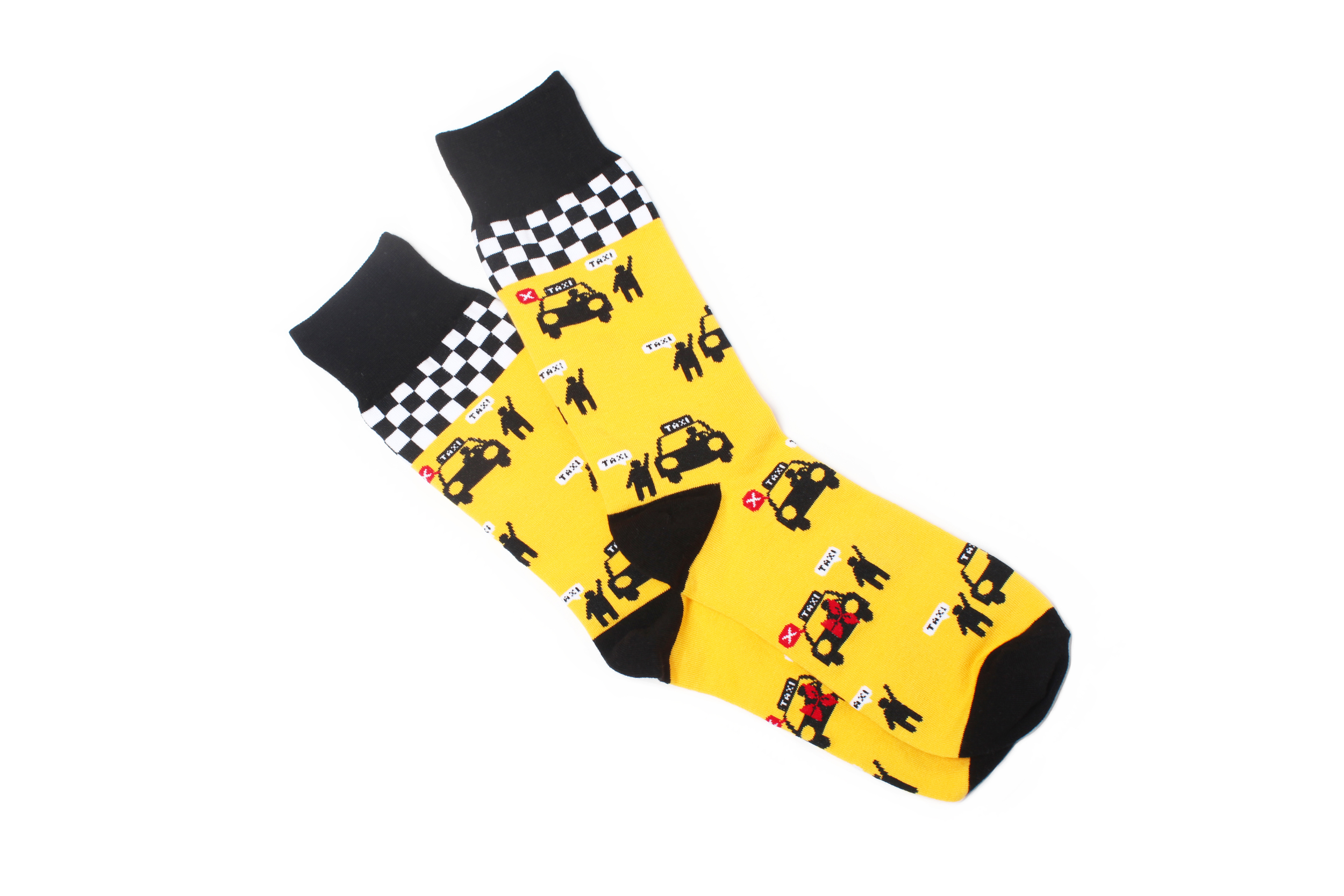 Wondersocks Yellow cab