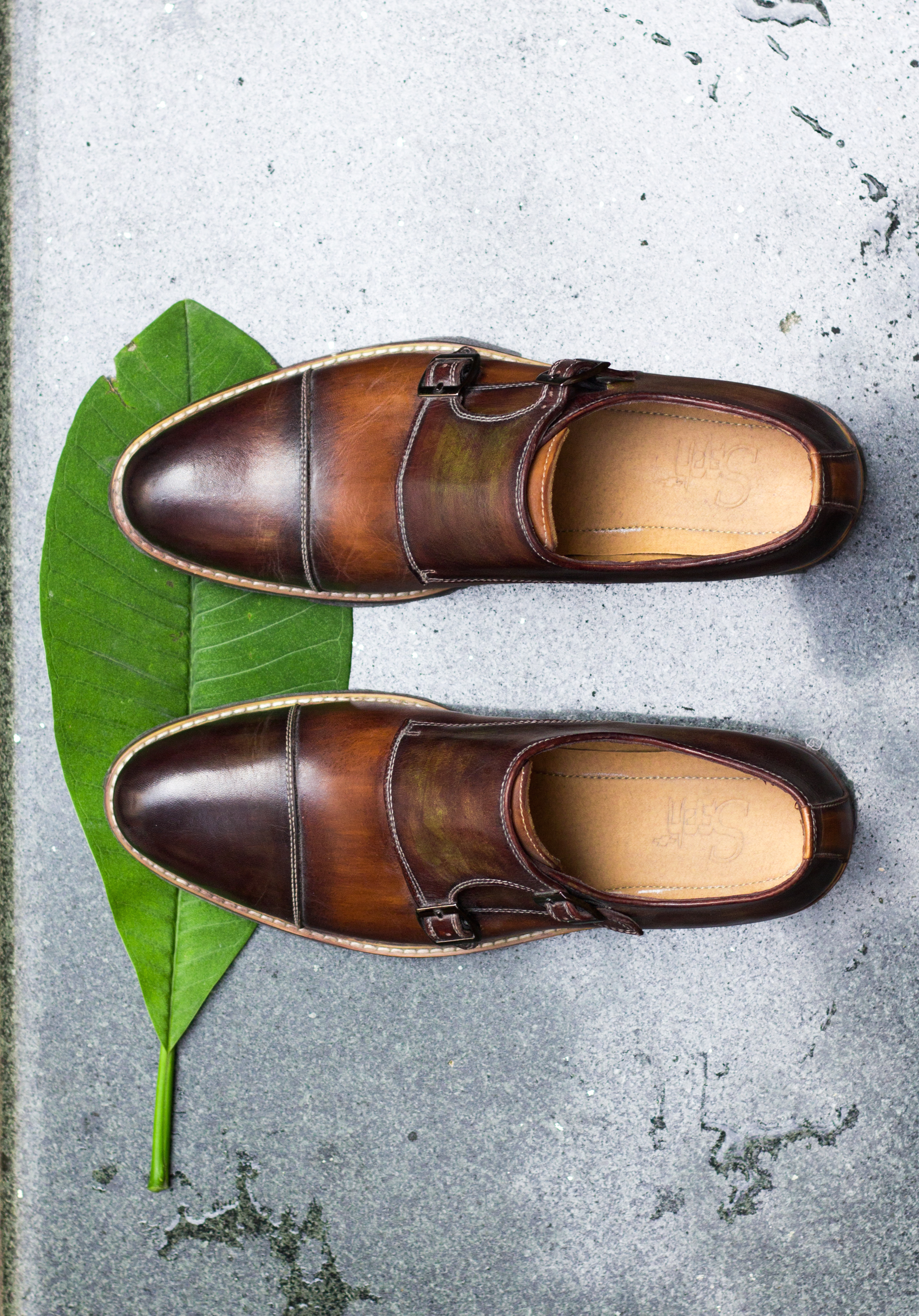 #7 The brown monkstrap - The monkstrap is a classical shoe,more formal than a derby but less formal than a full oxford.Sartorial boldness,modernity, and fashion forwardness.