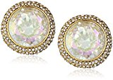 Kate Spade New York Round Stud Crystal Earrings