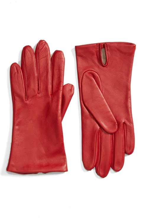 Fownes Brothers Short Leather Gloves