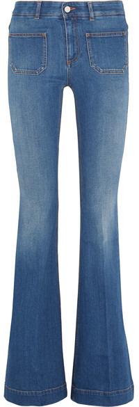 Stella McCartney High-Rise Flare Jeans