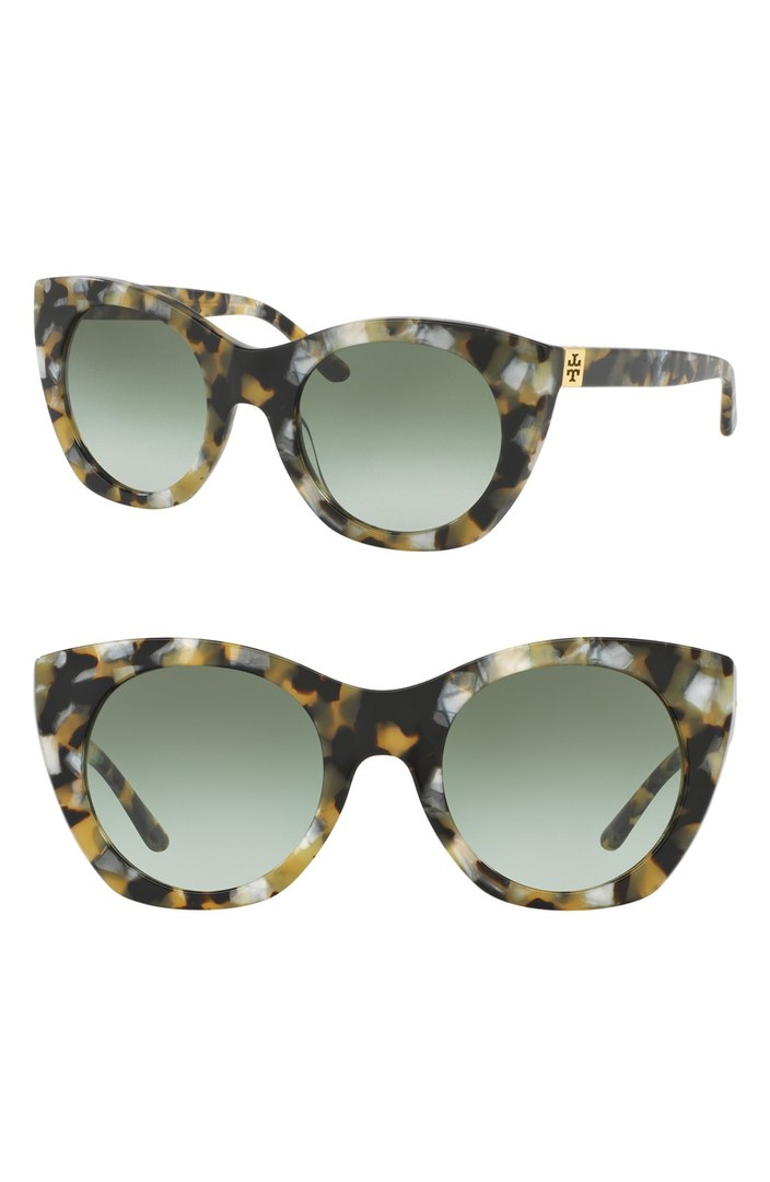 52mm Cat Eye Sunglasses TORY BURCH