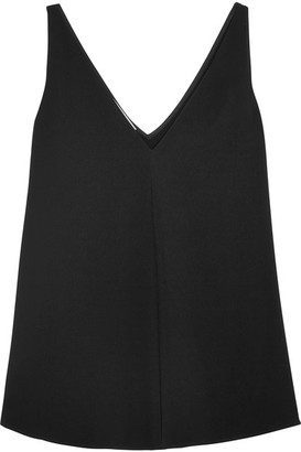 STELLA MCCARTNEY - STRETCH-CADY TOP - BLACK
