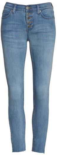 Women's Free People Reagan Crop Skinny Jeans