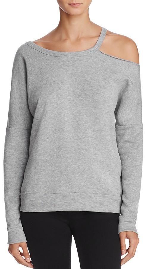Project Social T Single Cold Shoulder Sweatshirt