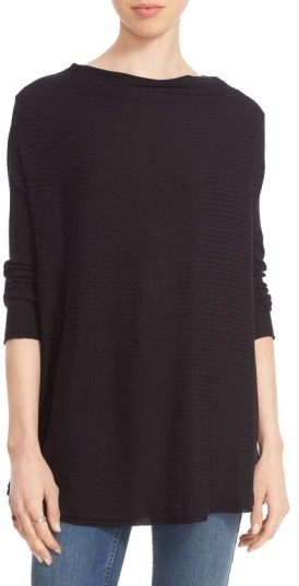 Women's Free People Lover Rib Split Back Pullover