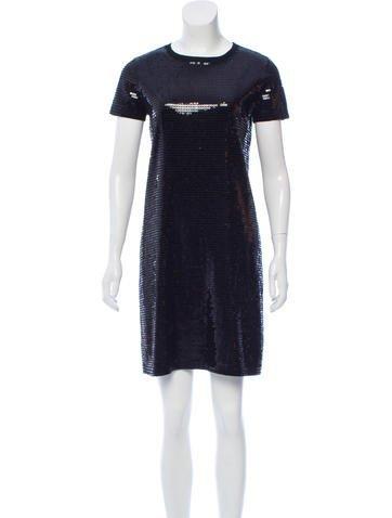 Michael Michael Kors Sequined Shift Dress