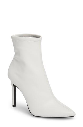 Women's Jessica Simpson Pelina Bootie, Size 5 M - White