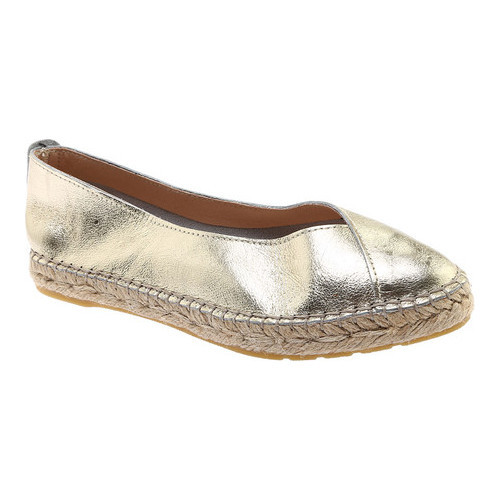 Women's Kenneth Cole New York Marren Espadrille, Size: 7 M, Gold Leather