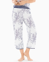 Wide Leg Crop Pajama Pants