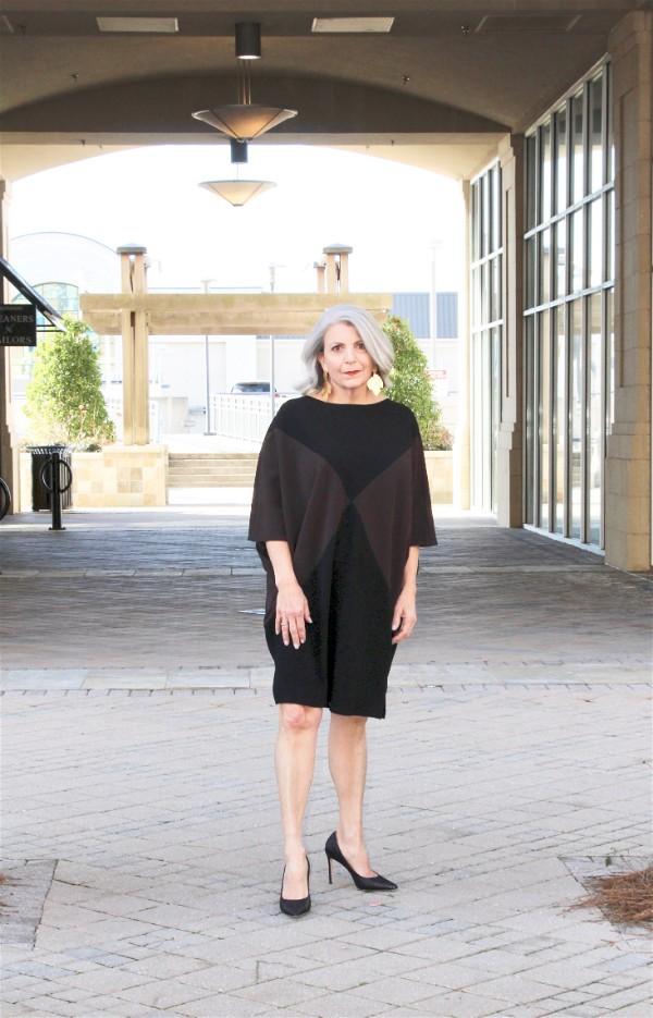 Dress by Tom and Linda Platt, Earring by Primaura