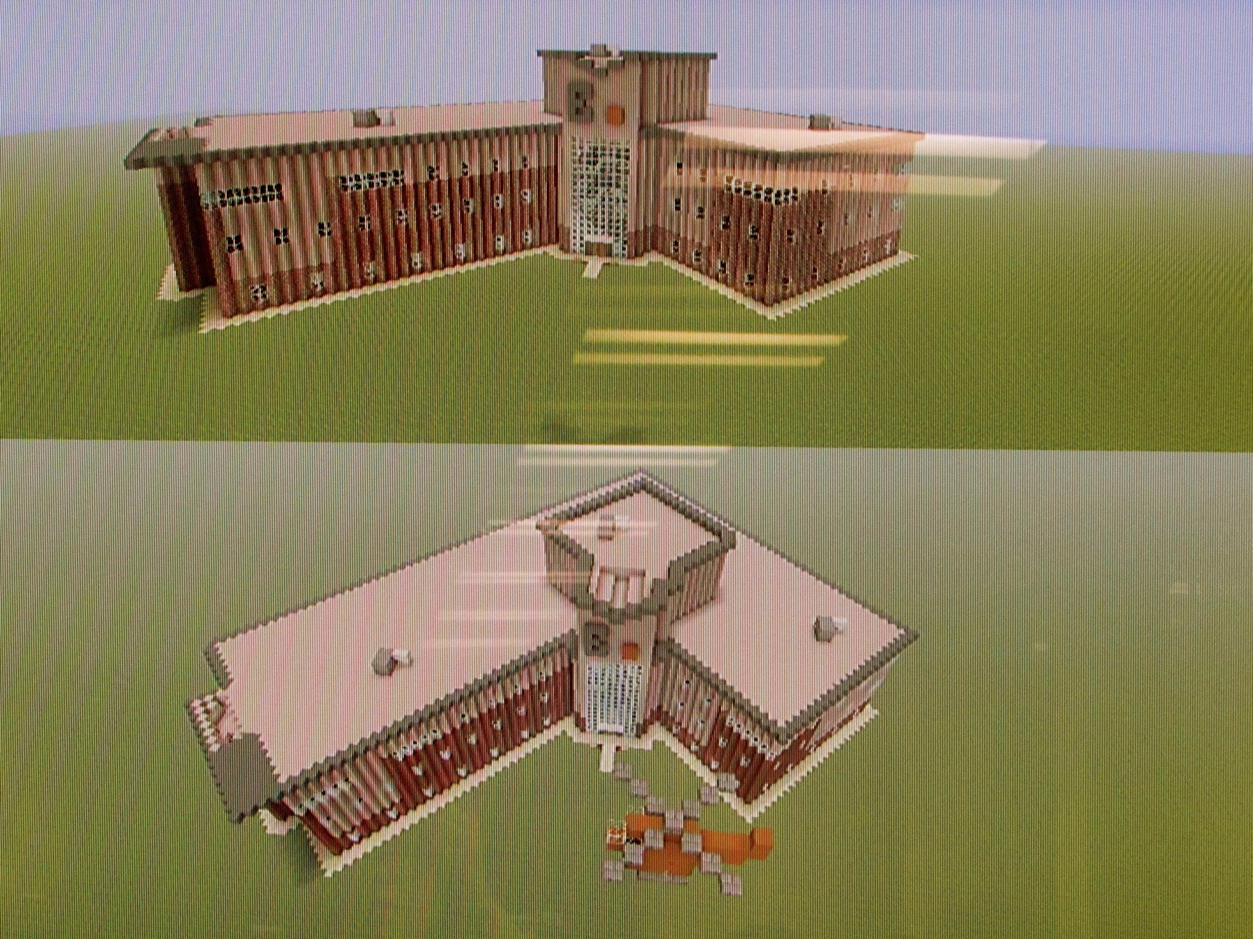 Taking shape: Exchange Court rebuilt