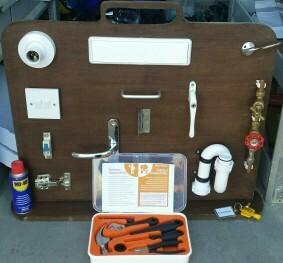 My own prototype training board!