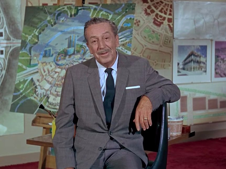 Clip:  Walt Disney introduces his vision for the Experimental Prototype Community of Tomorrow (E.P.C.O.T)  10min 20sec to 13min 20sec