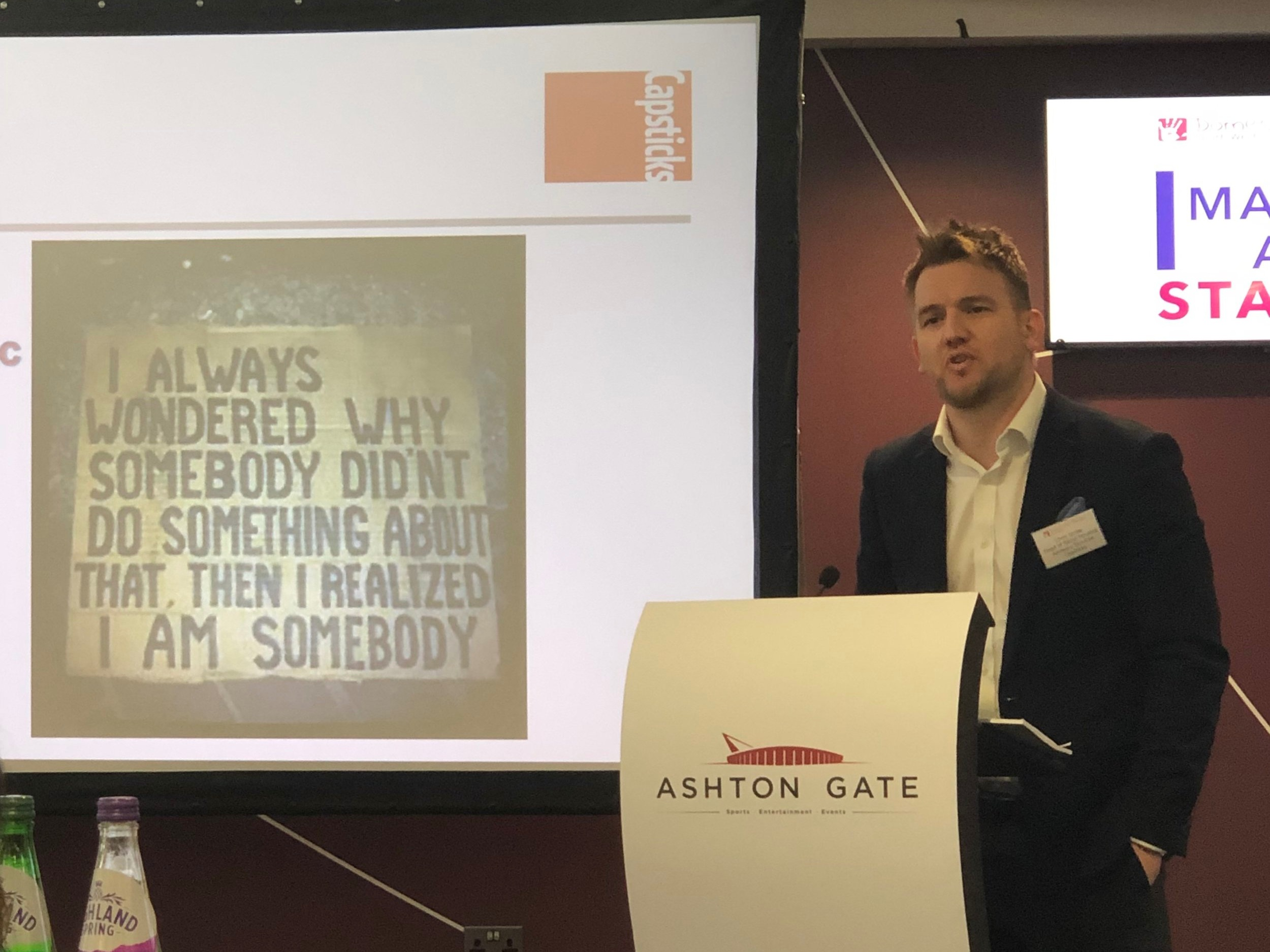 Chris  gave some great advice on how associations can build social value statements around domestic abuse into procurement processes! The full legal paper is only 4 pages long too!