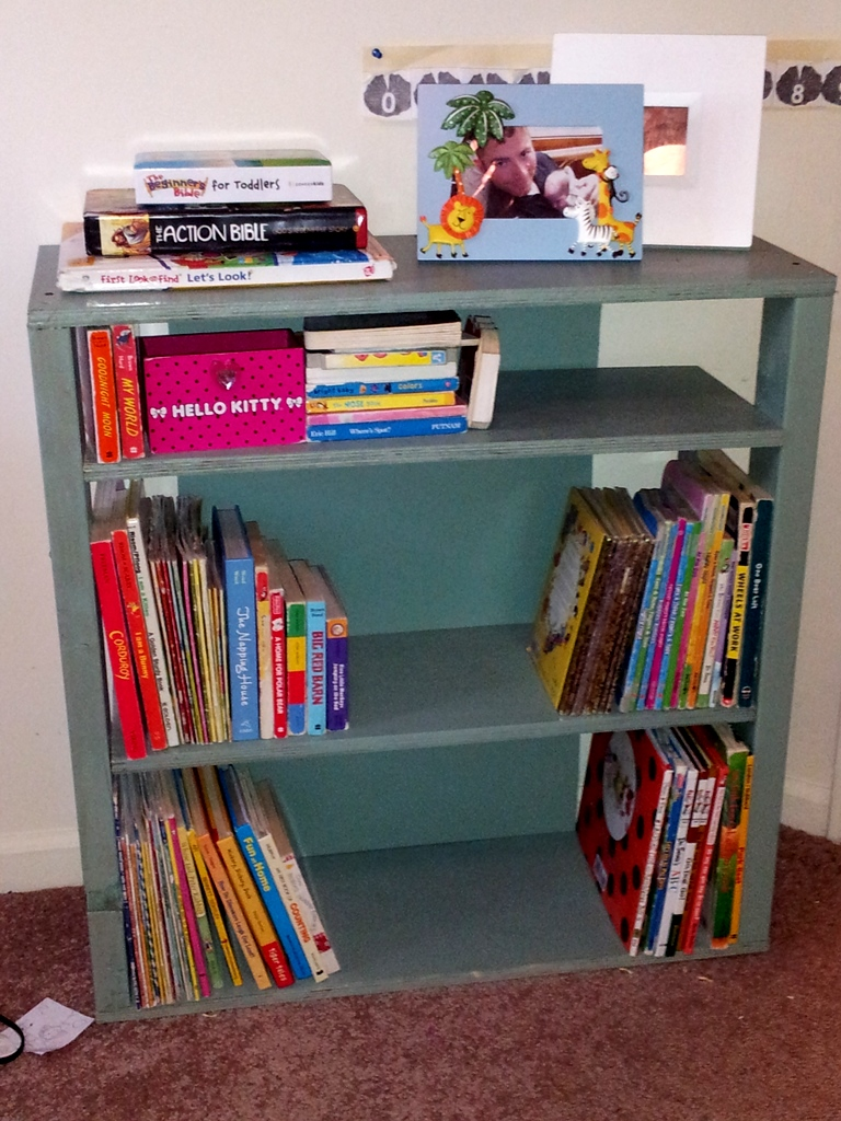 Completed book shelf!