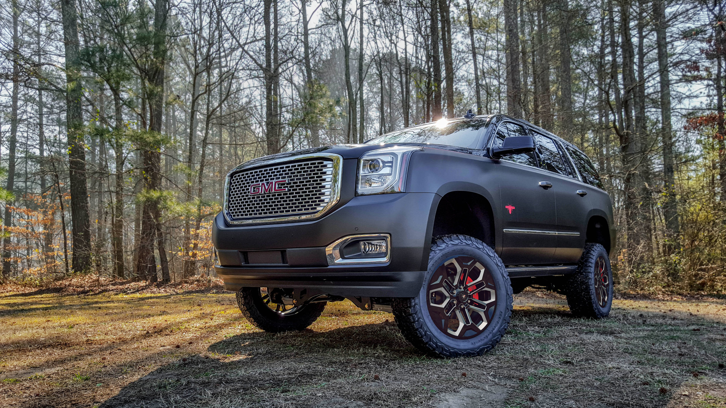 Gmc Yukon Lifted Suvs Sca Performance Black Widow Lifted Trucks