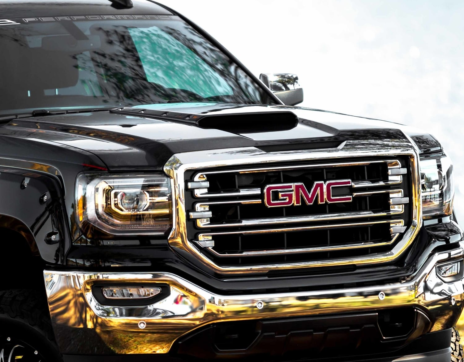 SCA GMC Black Widow Hood Scoop