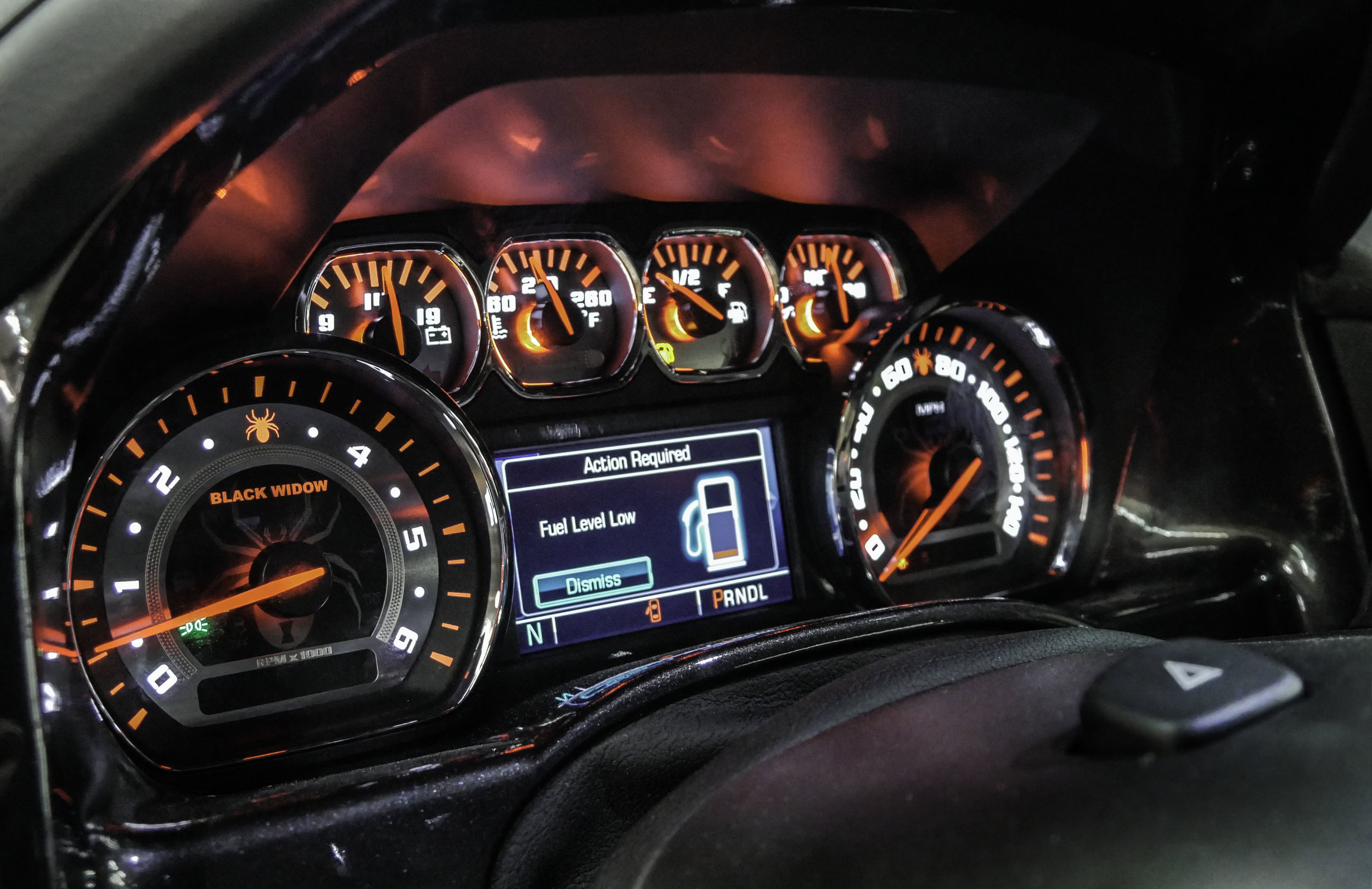 SCA GMC Black Widow Gauges
