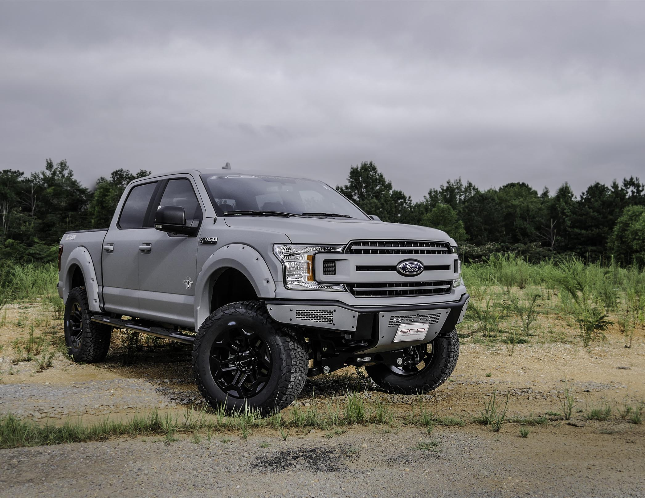 F-150 Armed Forces Edition Black Widow