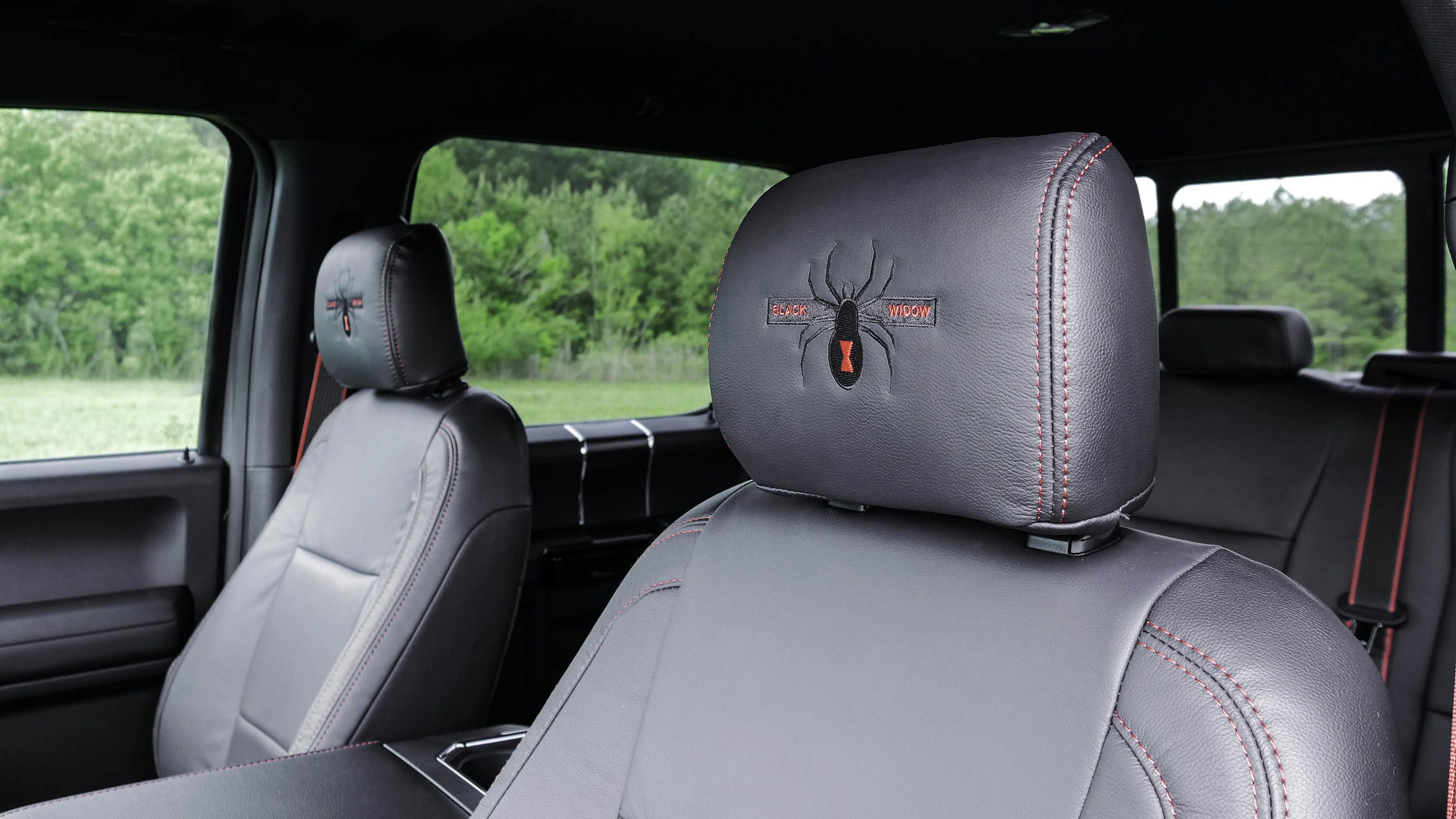Ford Black Widow Interior