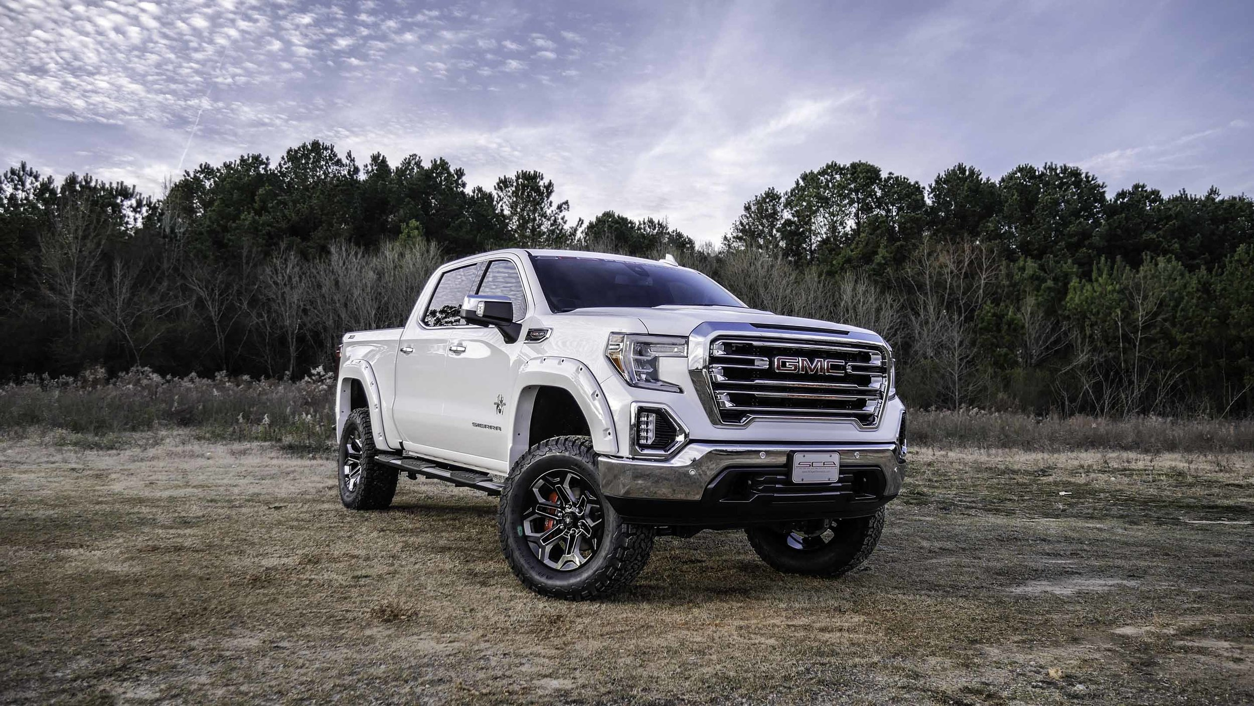 2019 GMC Sierra Black Widow White Front Qtr Small.jpg