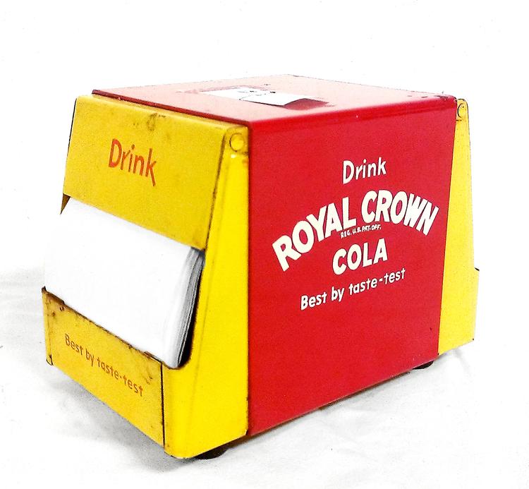 Royal Crown Cola Napkin Dispenser