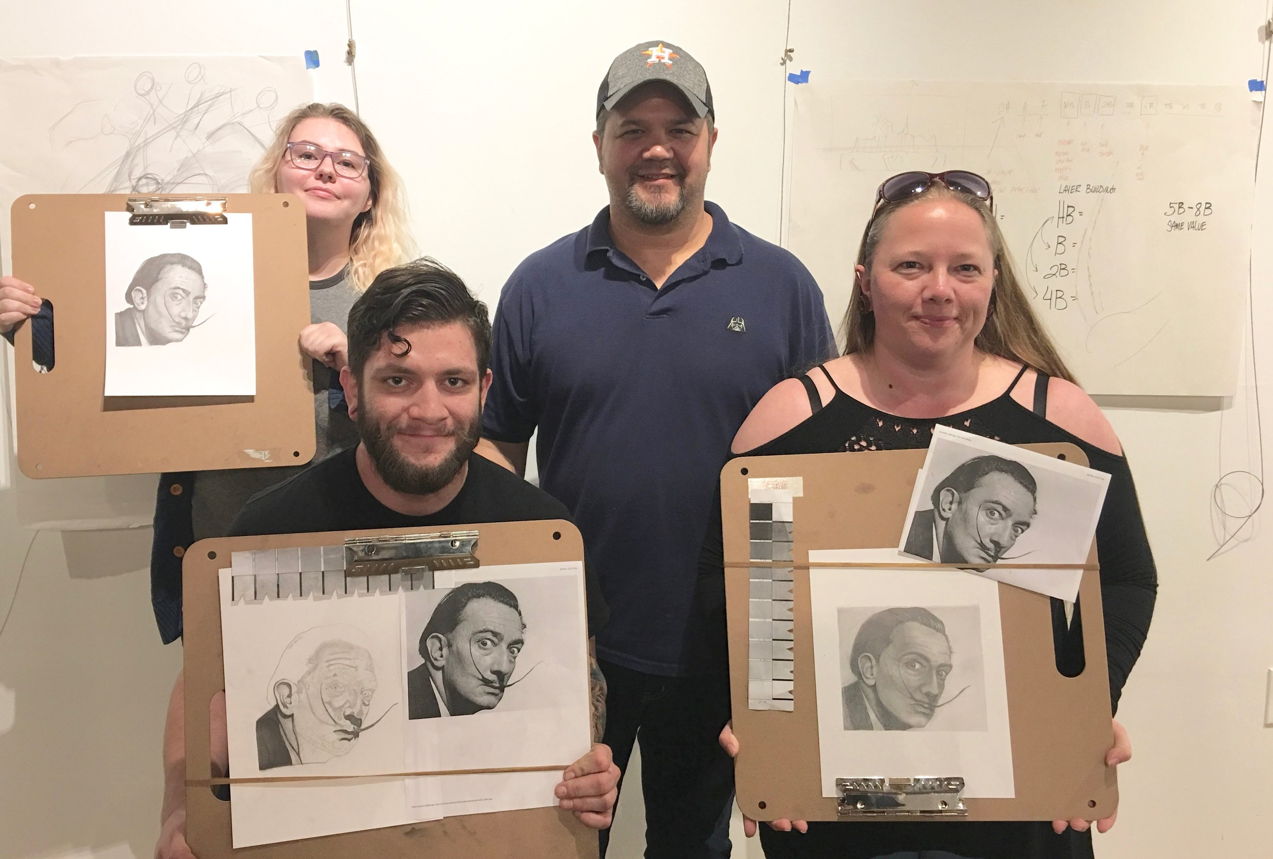 Drawing 101( Fundamentals of Drawing ):  March 8 -10th 2018