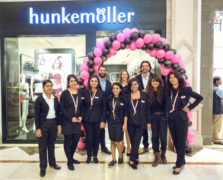 Hunkemöller team India