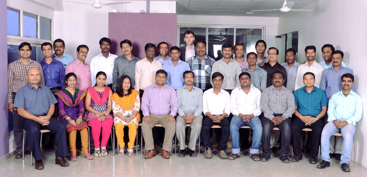 Het Indiase team van Frames (foto: Frames)