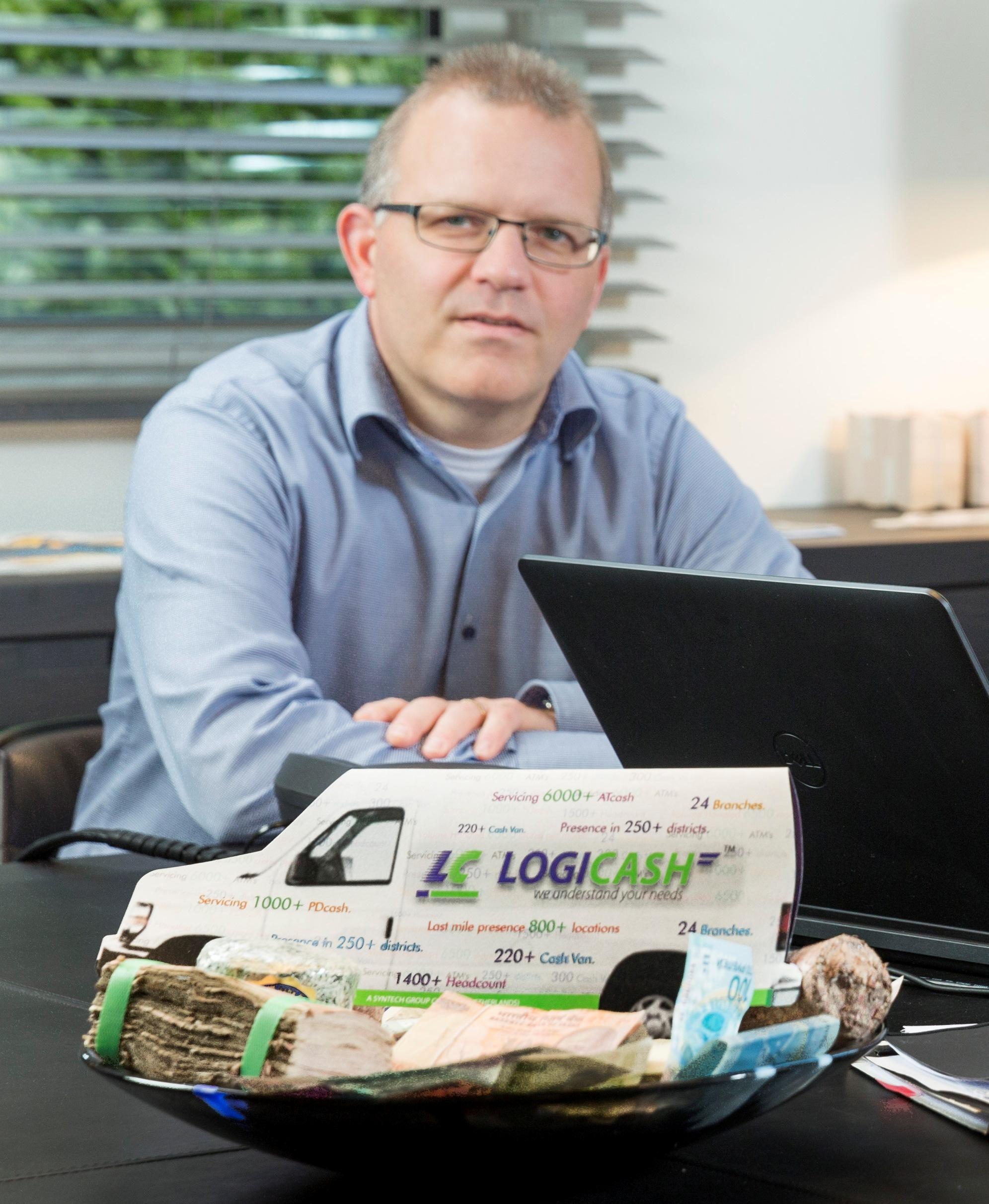 Syntech International CFO Geert Litjens (foto: Syntech International)