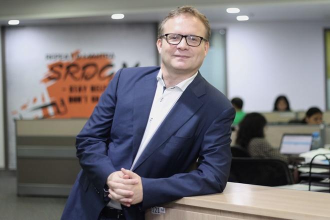 Martijn de Jong, Chief Digital Officer bij Aegon Life (foto: the financial express)