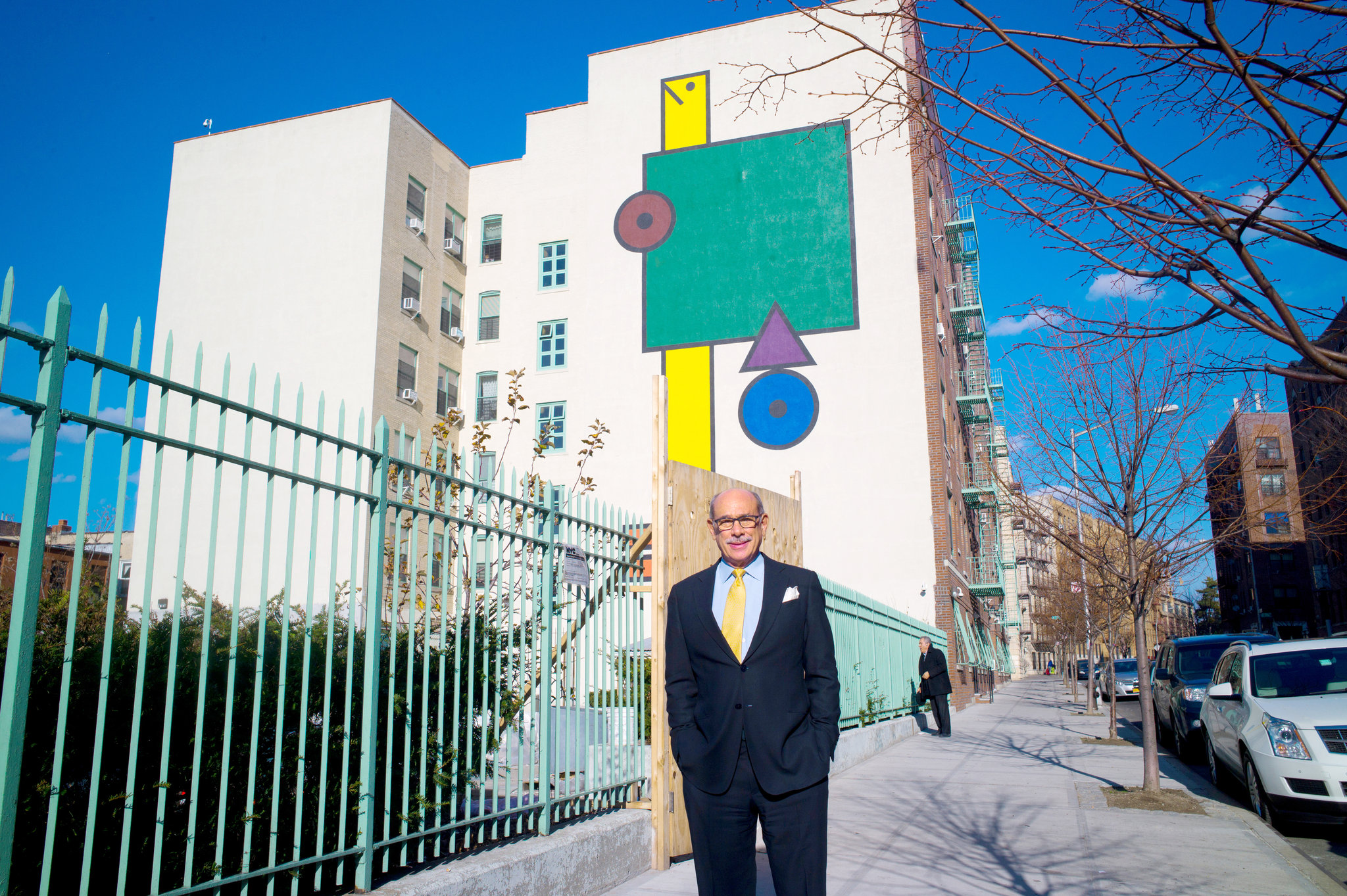 """""""CATCHING UP Peter Magistro is the founder of a company that owns and manages affordable apartment buildings in the Bronx. He said that with time, misperceptions of the Bronx from the '60s and '70s have begun to dissipate. Credit Ozier Muhammad/The New York Times"""""""