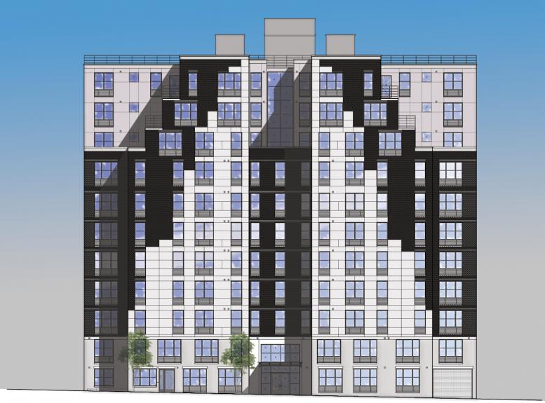 2264 Morris Avenue, rendering via HPD