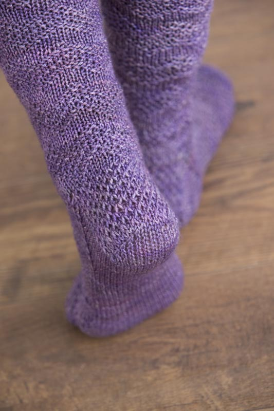 Visby Seeded Chevron Socks