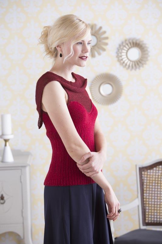 Eveleigh Sleeveless Cowl-Neck Pullover