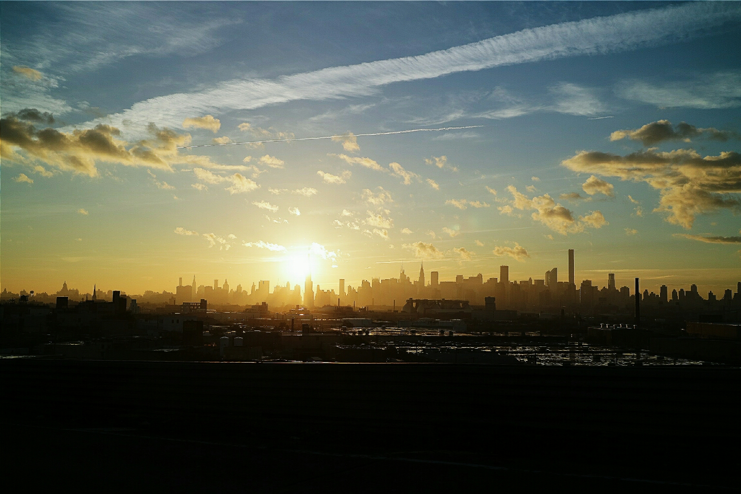 On the Brooklyn Queens Expressway