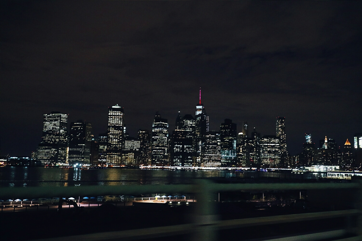 The bright lights of nyc