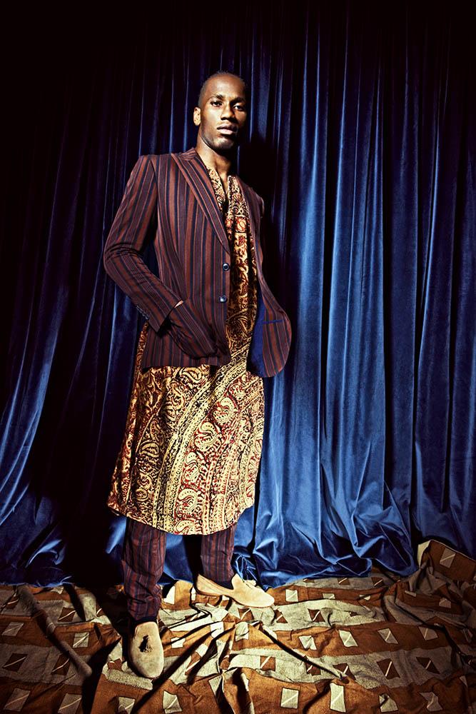 DIDIER DROGBA  FOR L'UOMO VOGUE AFRICA SPECIAL